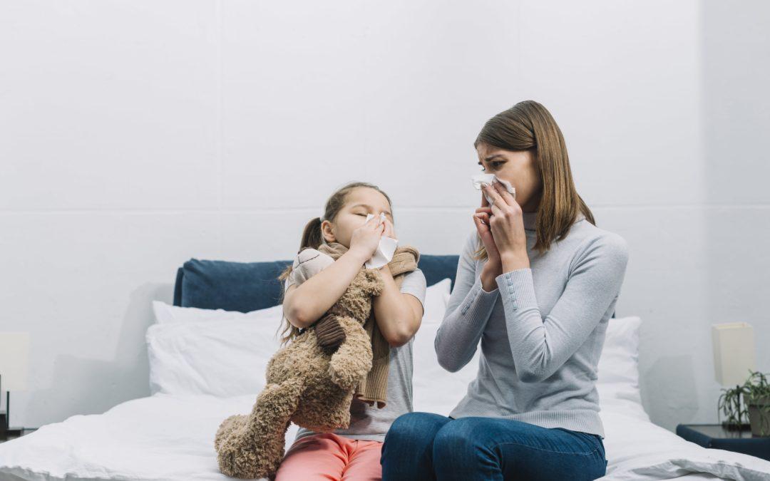Pruebas de alergia cutáneas. Prick test